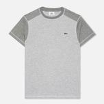 Мужская футболка Lacoste Contrasting Chine/Stone фото- 0