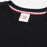 Мужская футболка Lacoste Live Classic Black фото- 1