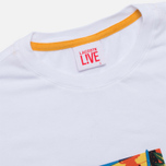 Мужская футболка Lacoste Live Super Hero White фото- 1