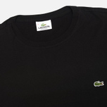 Мужская футболка Lacoste Single-Color Jersey Black фото- 1