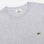 Мужская футболка Lacoste Single-Color Jersey Grey фото- 1