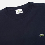 Lacoste Single-Color Jersey T-Shirt Navy photo- 1
