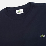 Мужская футболка Lacoste Single-Color Jersey Navy фото- 1