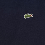 Мужская футболка Lacoste Single-Color Jersey Navy фото- 2