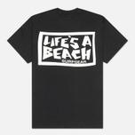 Мужская футболка Life's A Beach Lab Logo Black фото- 1