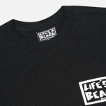 Мужская футболка Life's A Beach Lab Logo Black фото- 2
