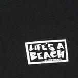 Мужская футболка Life's A Beach Lab Logo Black фото- 3