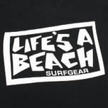 Мужская футболка Life's A Beach Lab Logo Black фото- 4