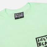 Мужская футболка Life's A Beach Lab Logo Green фото- 2