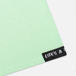 Мужская футболка Life's A Beach Lab Logo Green фото- 4