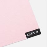 Мужская футболка Life's A Beach Lab Logo Salmon фото- 4