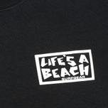 Мужская футболка Life's A Beach Shit Happens Black фото- 3