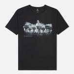 Мужская футболка MA.Strum Forts Graphic Jet Black фото- 0