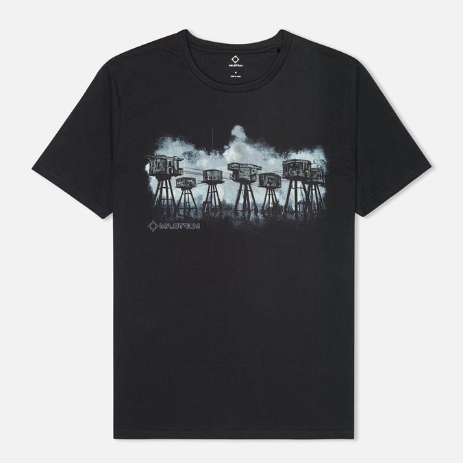 Мужская футболка MA.Strum Forts Graphic Jet Black