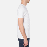 MA.Strum Large Compass Logo Optic White photo- 1