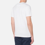 MA.Strum Large Compass Logo Optic White photo- 2