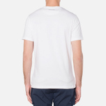 MA.Strum Large Compass Logo Optic White photo- 3