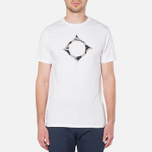 MA.Strum Large Compass Logo Optic White photo- 4