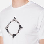 MA.Strum Large Compass Logo Optic White photo- 5