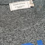 Мужская футболка Maison Kitsune Crew Neck Print Je Suis Alle Dark Grey Melange фото- 2
