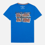 Мужская футболка Napapijri Sallas Blue Rebel фото- 0