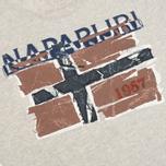 Мужская футболка Napapijri Sallas Light Grey фото- 2