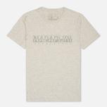 Мужская футболка Napapijri Sapriol Grey фото- 0