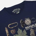 Napapijri Skali Men's T-shirt Space photo- 1