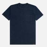 Мужская футболка Nemen Co/Li Pocket Navy фото- 0