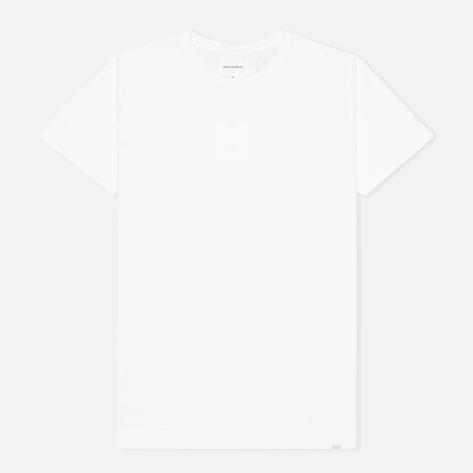 Мужская футболка Norse Projects Esben Fine Jersey White