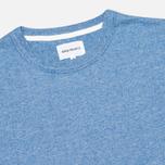 Norse Projects James Moulinex Men's T-shirt California Blue photo- 1
