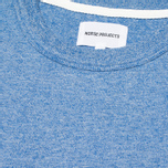 Norse Projects James Moulinex Men's T-shirt California Blue photo- 2