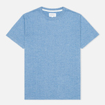 Norse Projects James Moulinex Men's T-shirt California Blue photo- 0