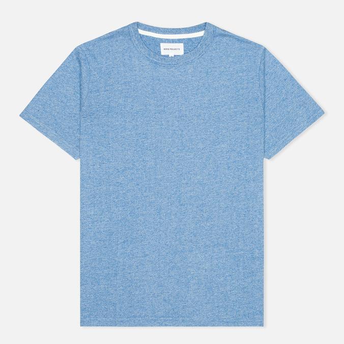 Norse Projects James Moulinex Men's T-shirt California Blue