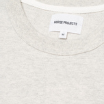 Мужская футболка Norse Projects James Moulinex Ecru фото- 2