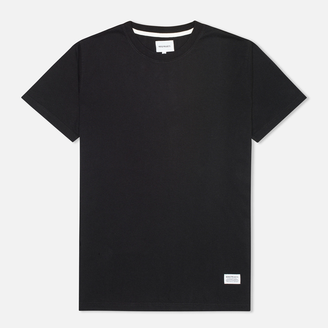 Norse Projects Niels Basic Men's T-shirt Black