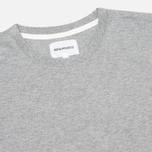 Футболка мужская Norse Projects Niels Basic Light Grey Melange фото- 1