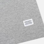 Norse Projects Niels Basic Men's T-shirt Light Grey Melange photo- 3