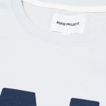 Мужская футболка Norse Projects Niels Basic Logo Pale Blue фото- 2