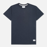 Футболка мужская Norse Projects Niels Basic Navy фото- 0