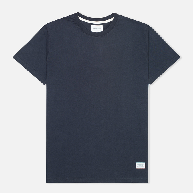Футболка мужская Norse Projects Niels Basic Navy