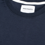 Футболка мужская Norse Projects Niels Basic Navy фото- 2