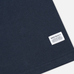 Футболка мужская Norse Projects Niels Basic Navy фото- 3