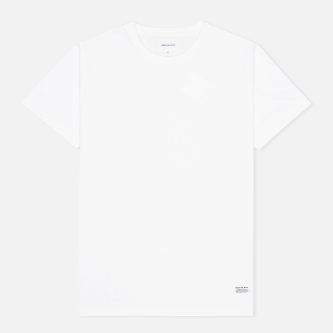 Norse Projects Niels Basic Men's T-shirt White