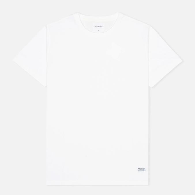 Мужская футболка Norse Projects Niels Basic White N01-0235-0001