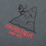 Мужская футболка Patagonia Alpine Surfer Forge Grey фото- 3