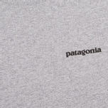 Мужская футболка Patagonia P-6 Logo Classic Gravel Heather фото- 2