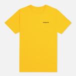 Patagonia P-6 Logo Classic Men's T-shirt Tupelo Yellow photo- 0