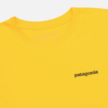 Patagonia P-6 Logo Classic Men's T-shirt Tupelo Yellow photo- 1