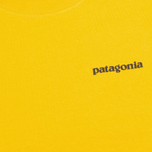 Patagonia P-6 Logo Classic Men's T-shirt Tupelo Yellow photo- 3